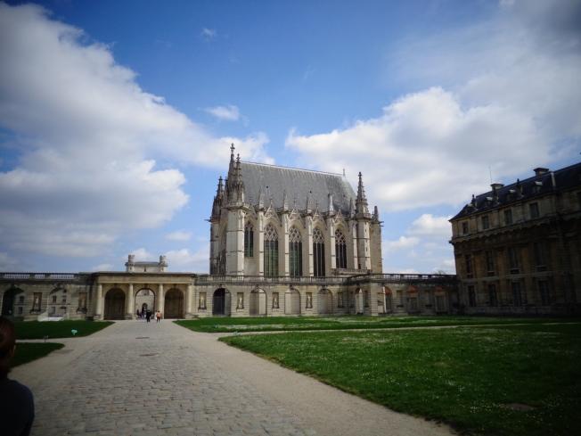 Vista da Sainte-Chapelle