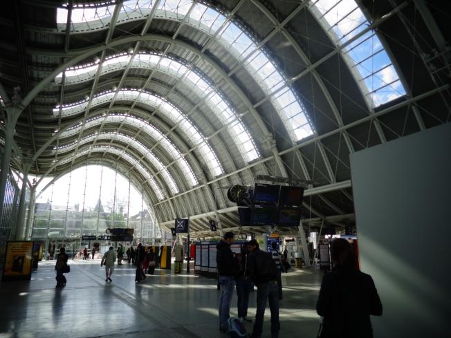 Gare des Aubrais em Orléans.