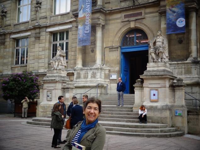 Entrada do Musée de Beaux-Arts