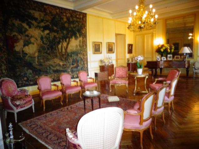 O salão e o escritório