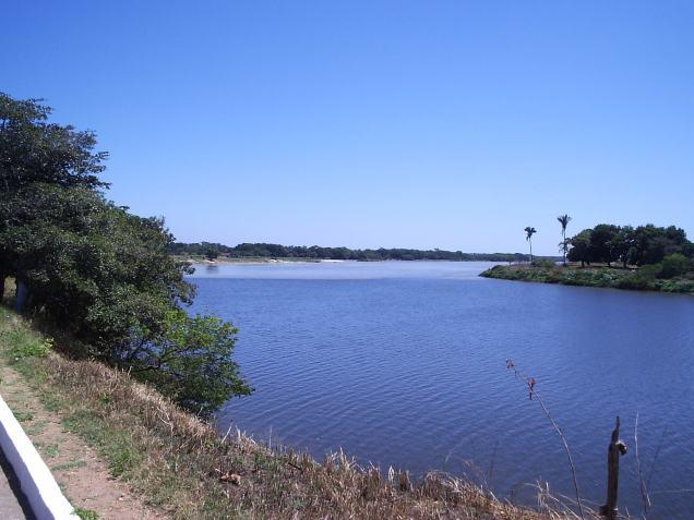 Encontro dos rios Poti e Parnaíba