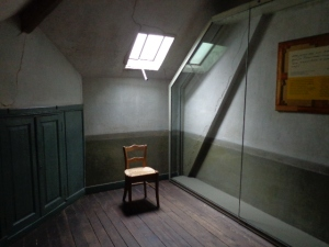Quarto nde Van Gogh viveu seus últimos dias.