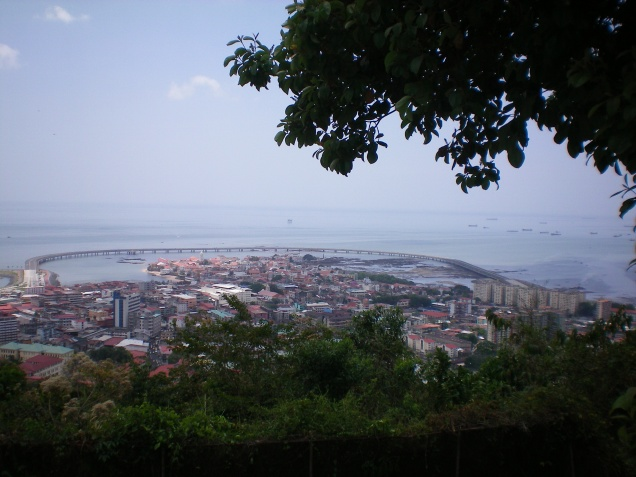 Vista do centro da cidade.