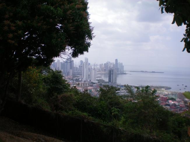 Vista da parte moderna da cidade.