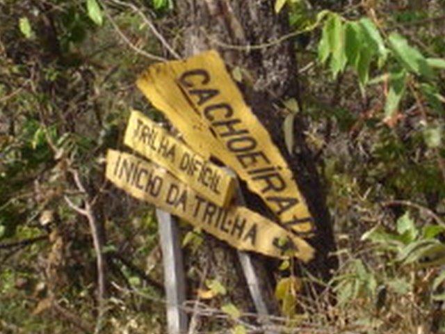 Sinalização das trilhas