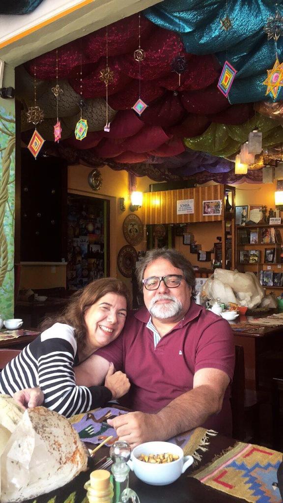 """Restaurante vegetariano o fantasma do """"soroche"""" dando seus primeiros sinais"""